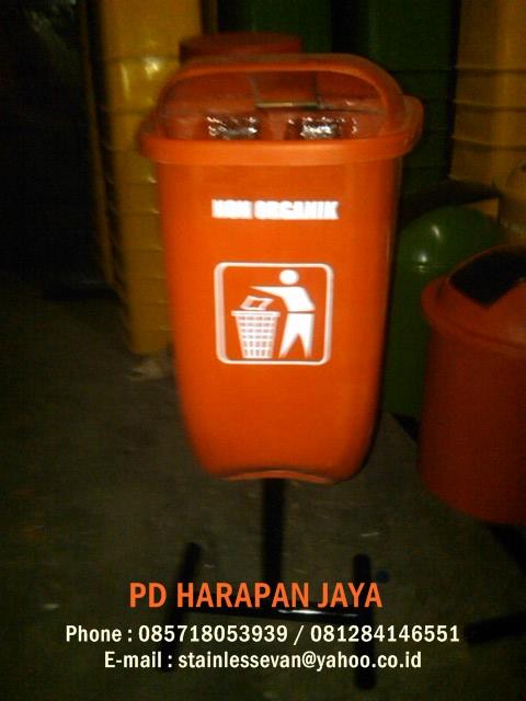 penjual tong sampah fiber , tong sampah murah