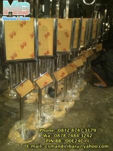 PD MANDIRI BARU - Menjual Aneka produk stainless dan Fiberglass , Standing Poter murah denga Diplay Pilihan siap bantu PENGUMUMAN anda *MURAH* HUB : 0812-8747-3179