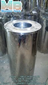 standing-ashtray-b,jual tempat sampah stainless krisbow di surabaya dan semarang
