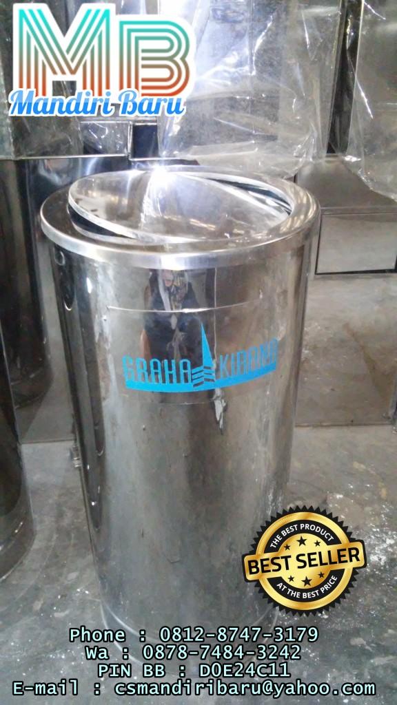 standing-ashtray-b2,standing ashtray jual tempat sampah stainless di semarang surabaya jakarta dan bandung murah