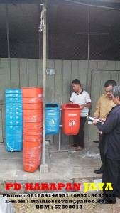 HARGA TEMPAT SAMPAH ORGANIK DAN ANORGANIK MURAH DI BANDUNG DAN JAKARTA, tempat sampah fiberglass krisbow, jual tong sampah fiber ace hadware