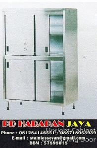 Lemari Arsip Sliding Door, harga lemari stainless dapur alumunium
