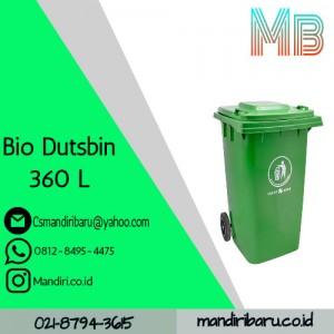 BIO DUTSBIN 360L, bak sampah plastik harga murah di bandung jakarta dan semarang