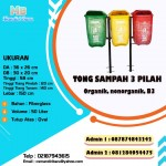 TONG SAMPAH FIBER OVAL 3 IN 1