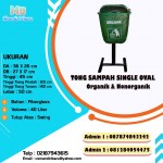 TONG FIBER OVAL SINGLE 40 LITER