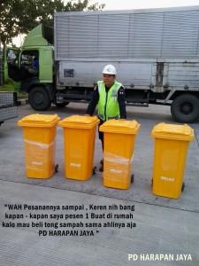 jual tempat sampah roda 2 tempat sampah beroda