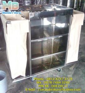 PD MANDIRI BARU kami menjual Aneka Tempat dan tong sampah berbahan Stainless dan Fiberglass murah juga menjual Trolley Laundry , Barang, Hotel dan bandara Harga Murah HUB : 0812-8747-3179