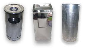 rumah, stainless, stainless steel, fiber, fiberglass, tong sampah, tempat sampah, hotel, pabrik
