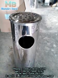 jual tempat sampah stainless krisbow , harga tempat sampah stainless krisbow murah