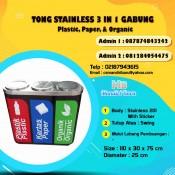 harga tempat sampah stainless, jual tempat sampah stainless, tong sampah stainless bulat murah, harga tempat sampah stainless di Surabaya, jual tong sampah stainless di Bandung,