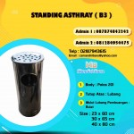 ANEKA STANDING ASHTRAY BULAT