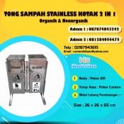 jual tong sampah stainless, harga tempat sampah stainless steel, jual tong sampah stainless steel di Jakarta, harga tempat sampah stainless murah,