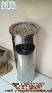 standing-ashtray-a2,tempat dan tong sampah stainless