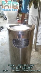 standing-ashtray-c,jual tong sampah stainless setengah Lingkaran