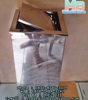 standing-ashtray-d1,jual tempat sampah stainless goyang murah di jakarta dan bandung