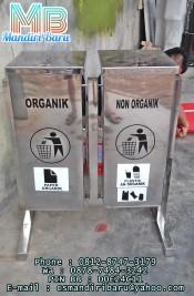 ts-kotak-2-in-1,jual tong sampah stainless murah di jakarta surabaya dan bandung