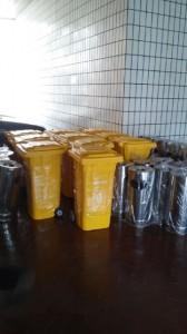 jual standing ashtray murah dan tempat sampah fiber 120 Liter murah