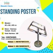 Harga standing poster murah, jual standing poster di Jakarta, harga standing poster murah, jual standing poster, harga jual stading poster, standing poster murah,
