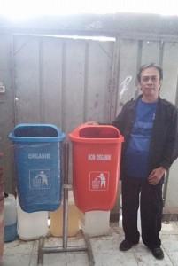 jual tempat sampah fiber organik dan anogranik murah, harga tempat sampah organik dan anorganik