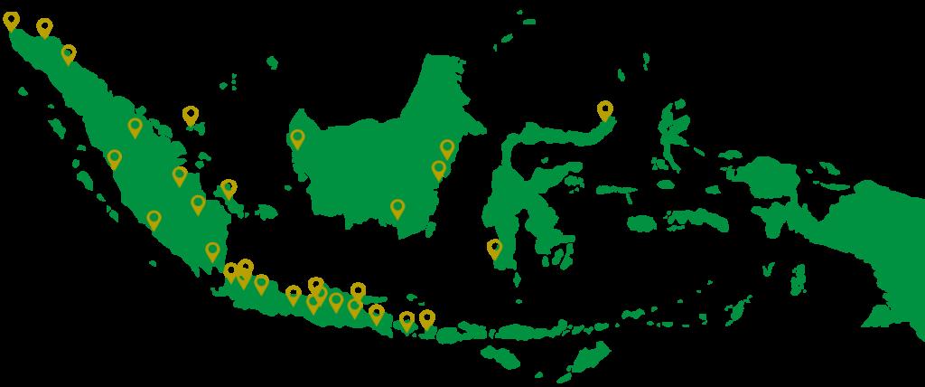 distribusi tong sampah ke berbagai daerah