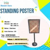 harga standing poster, jual standing poster, standing poster murah, harga standing poster,, jual standing poster di Jakarta, harga standing poster di Bandung,
