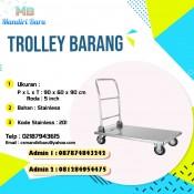trolley barang, harga trolley barang, jual trolley barang, trolley barang murah,