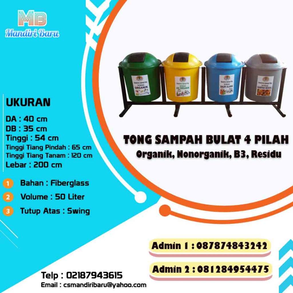 jual tempat sampah fiberglass, harga tong sampah fiber, tong sampah fiber, tong fiberglass di Bandung,