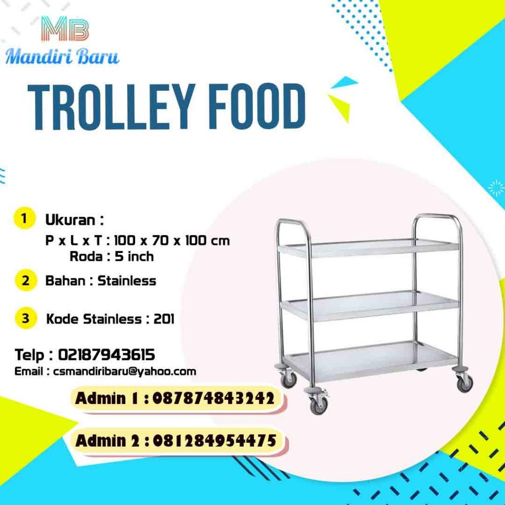 trolley makanan, jual trolley makanan, harga trolley makanan, jual trolley makanan murah, harga trolley makanan di Bogoe,