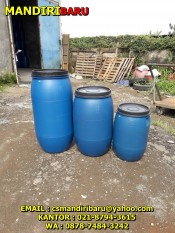 jual drum plastik harga murah , drum plastik kapasitas 150 Liter