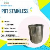 jual pot stainless di Bandung, harga pot stainless di Jakarta, stainless murah di Jakarta,