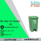 BIO STEP ON DUTSBIN 45L, HARGA TONG SAMPAH PLASTIK MURAH pedal , tempat sampah plastik di jakarta murah