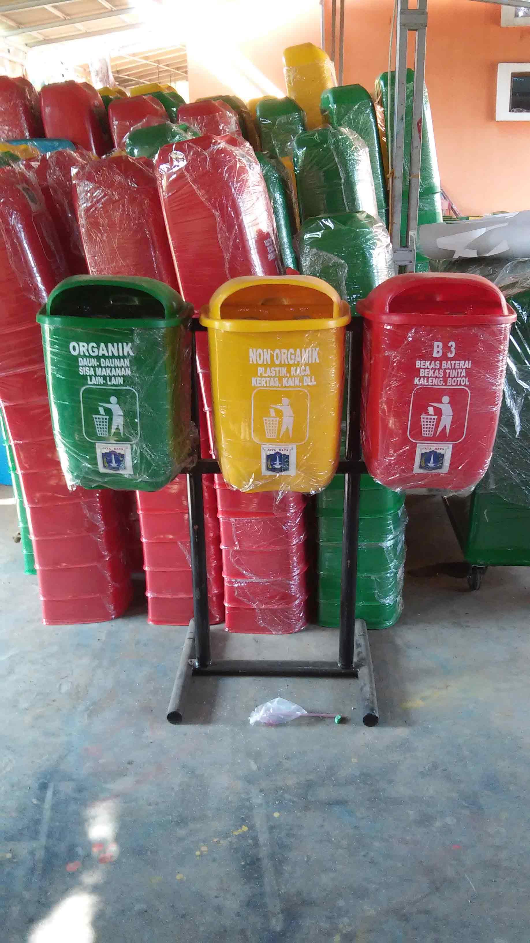tong-3-in-1,Jual tong sampah fiber, harga tong sampah fiber murah , tong sampah fiberglass di jakarta
