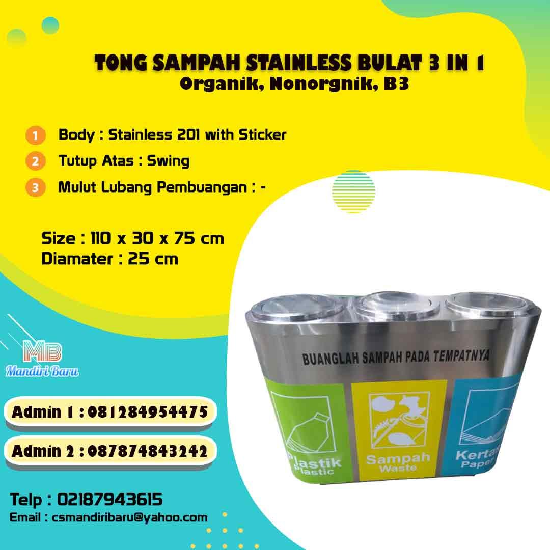 tong sampah stainless, harga tong sampah stainless di Surbaya, tong sampah stainless di Bandung, jual tong sampah stainless di Jakarta,