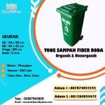 Tong sampah fiberglass 240 liter custom