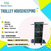 harga trolley housekeeping, jual trolley housekeeping, trolley housekeeping murah,