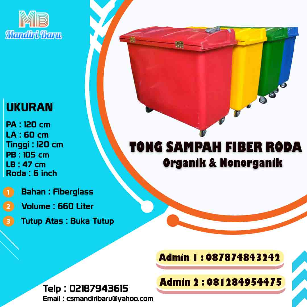 jual tong sampah fiberglass, harga tong sampah fiber, jual tong sampah fiberglass 660 Liter, tong sampah fiber besar, jual tong sampah fiberglass murah, harga tong sampah fiber,