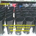 Tong Sampah Stainless Steel Custom