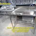 Meja Stainless Kitchen Set