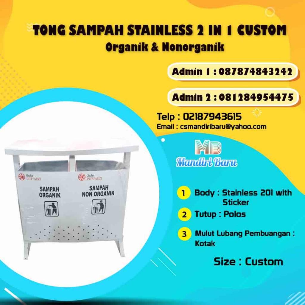 harga tempat sampah stainless, tong sampah stainless, jual tong sampah stainless, harga tempat sampah stainless di Surabaya, tempat sampah stainless steel di bandung,