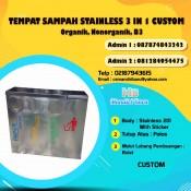 harga tempat sampah stainless, jual tong sampah stainless, tong sampah stainless di Bandung, jual tong sampah stainless di Jakarta, tempat sampah stainless di Bandung,