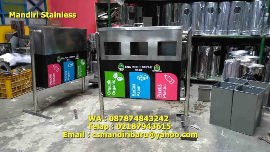 jual tempat sampah stainless, harga tempat sampah stainless steel, tong sampah stainless steel,