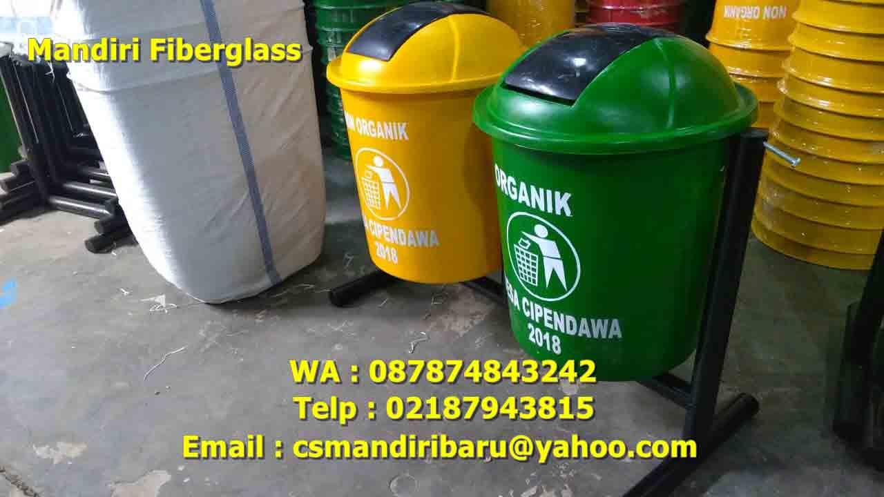 jual tong sampah fiberglass, harga tong sampah fiber, tong sampah fiber