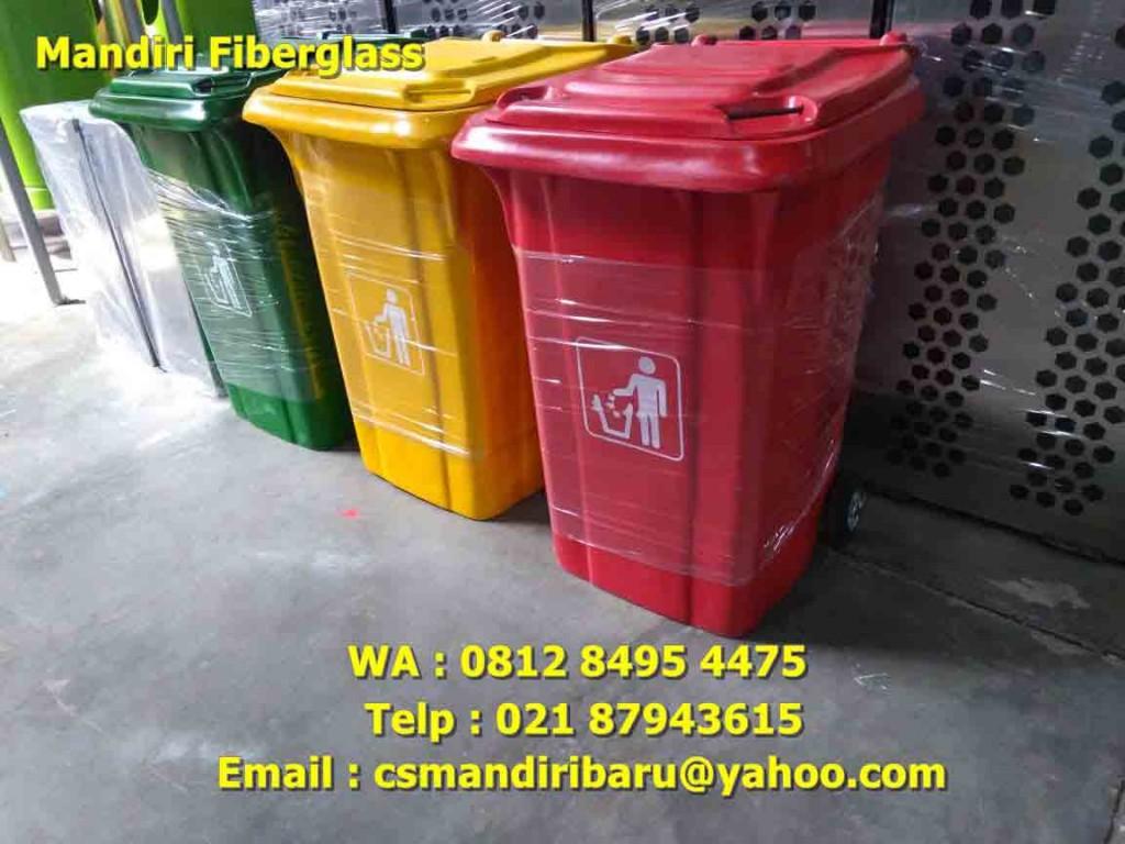 tong sampah fiberglass, harga tong sampah fiberglass, tempat sampah fiber,