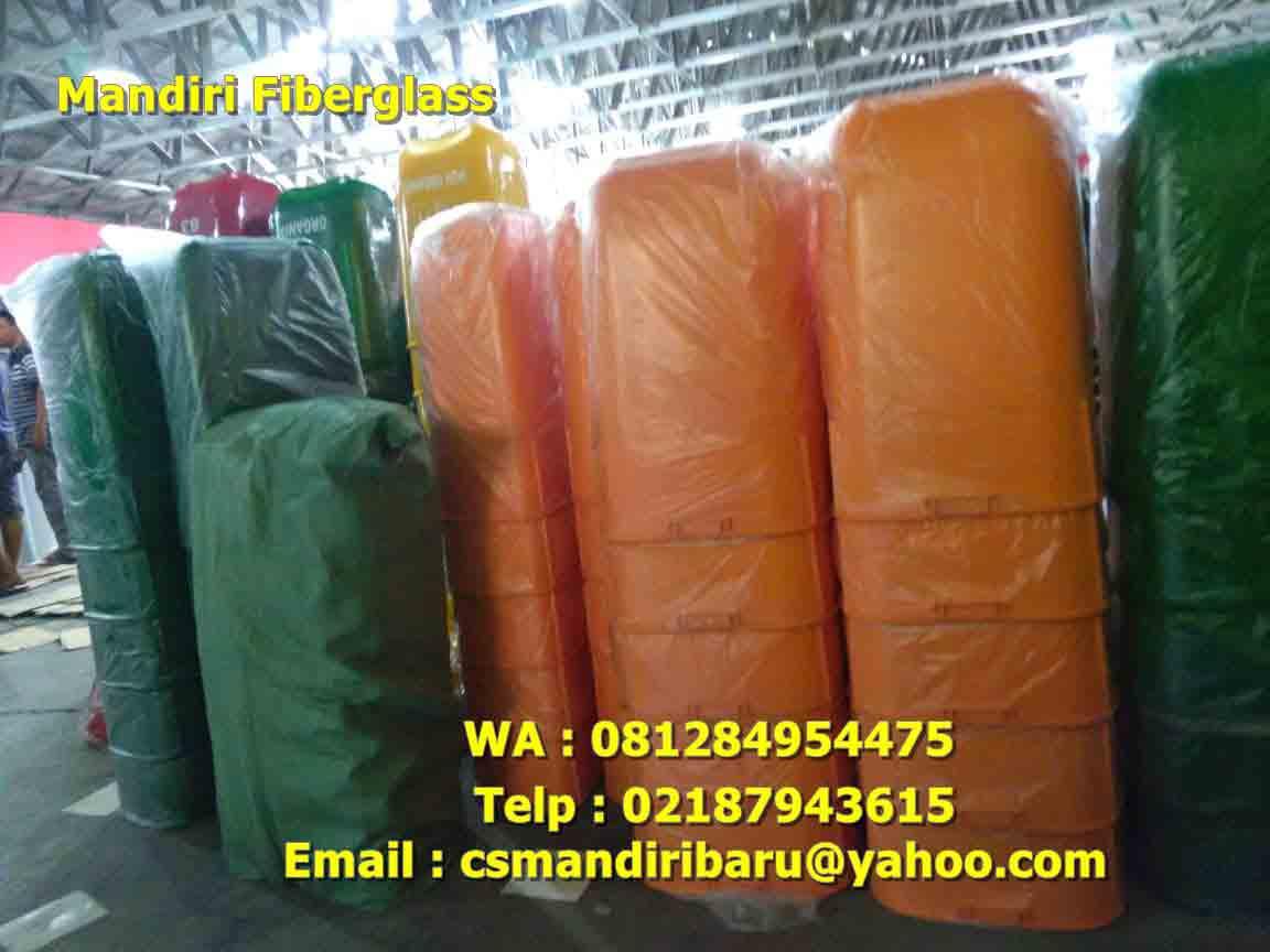 jual tong sampah fiberglass, harga tong sampah fiber, tong fiber,