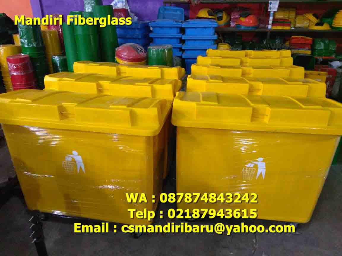 harga tong sampah fiberglass, tong sampah fiber,