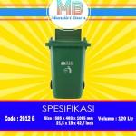 Tong sampah plastik 120 Liter ( G )