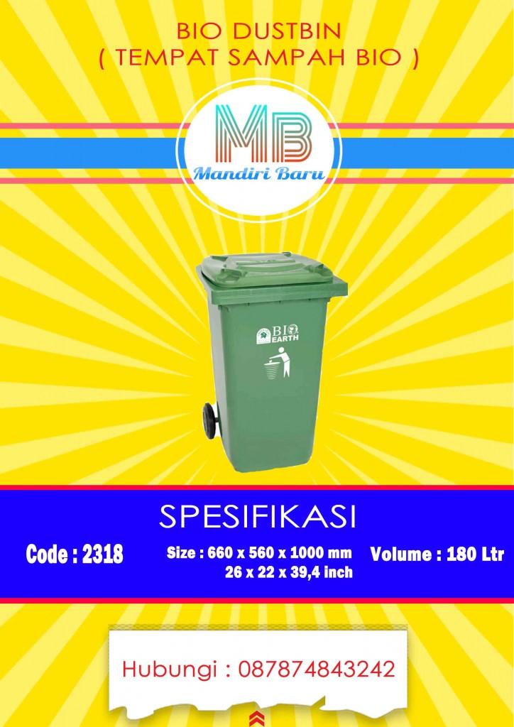 jual tempat sampah plastik, harga tong sampah plastik