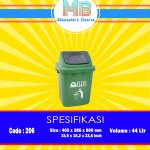 Tong sampah Plastik 44 Liter