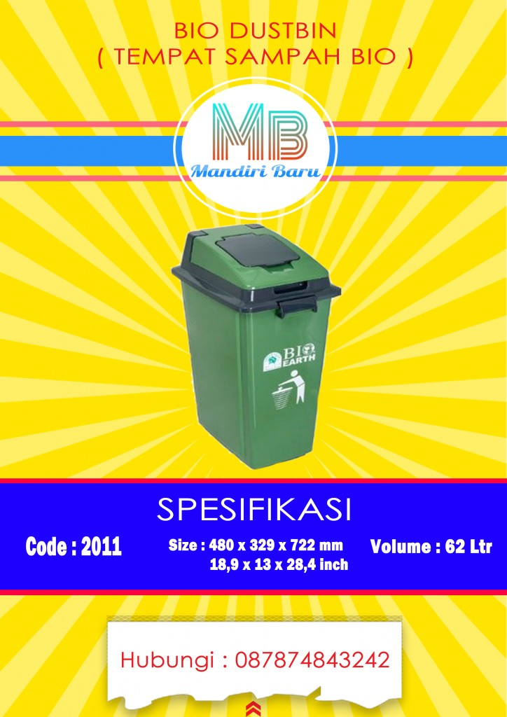 jual tempat sampah plastik Bandung, harga tong sampah besar plastik, beli tempat sampah plastik,