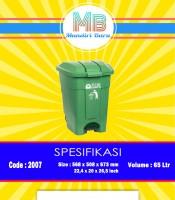 jual tonsg sampah plastik, harga tong sampah plsi